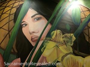 Photo of Saigon Alley Mural