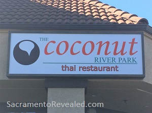 Photo of The Coconut River Park Signage