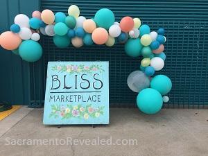 Photo of Bliss Marketplace Signage