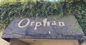 Photo of Orphan Breakfast House Signage