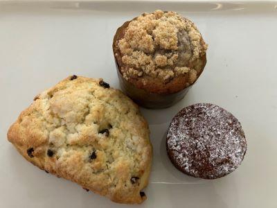 Photo of Ginger Elizabeth Patisserie scone muffin & brownie
