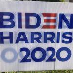 Photo of Biden/Harris Sign - 2020 in Sacramento