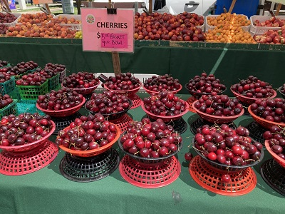 Photo of Capitol Mall Farmers Market Cherries