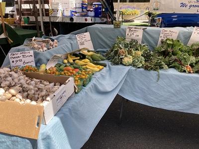 Photo of Capitol Mall Farmers Market Veggies