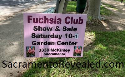 Photo of Sacramento Fuchsia Garden Club Sign