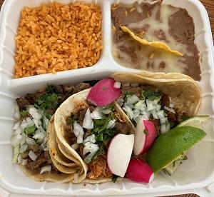 photo of El Ricon Mexican Restaurant 3 taco meal