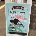 Photo of Farm to Fork Uncorked Signage
