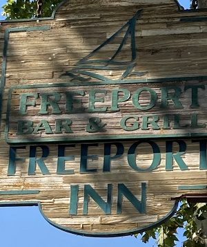 Photo of Freeport Bar & Grill Sign