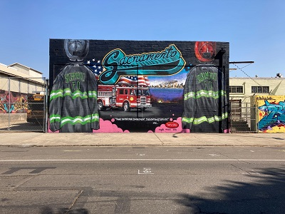 Photo of September 11 - 20th Anniversary Mural