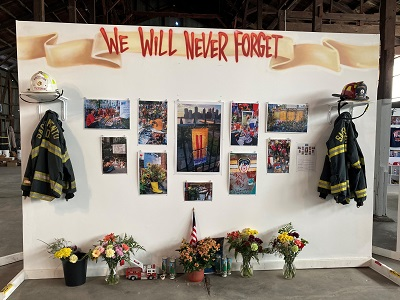 September 11 - 20th Anniversary We Will Never Forget Exhibit