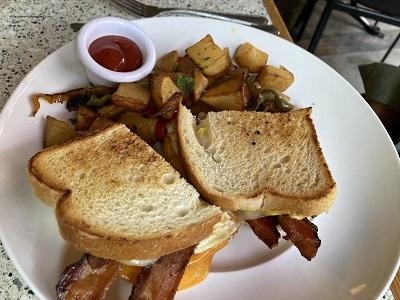 Photo of Riverside Clubhouse Breakfast Sandwich